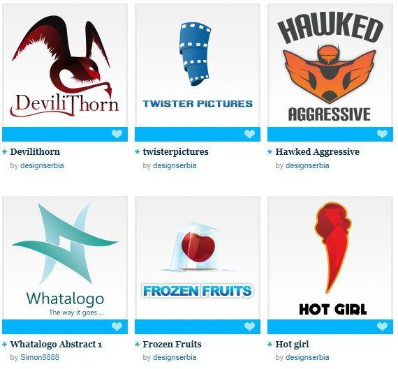 sell and buy logos