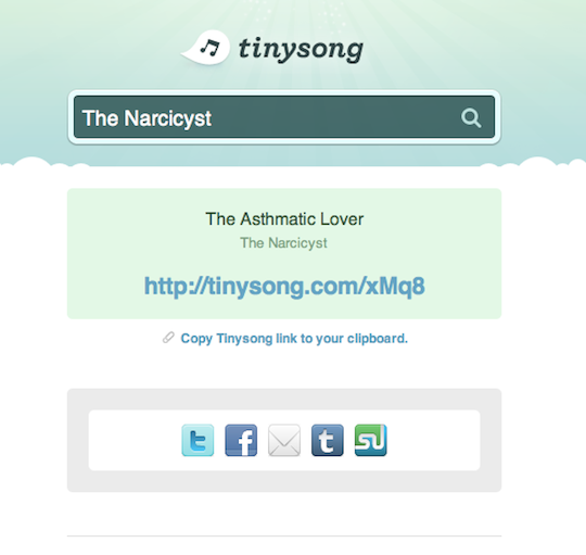 5 Ways to Share Music, Docs, Files, and More on Twitter TinySong2