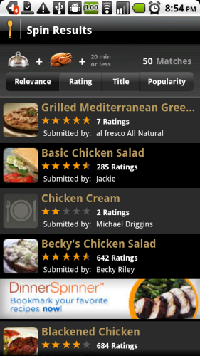The 4 best recipe apps for android phones android recipe app forumfinder Image collections