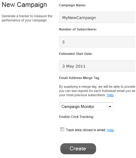 track your email campaigns