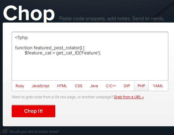 code annotation