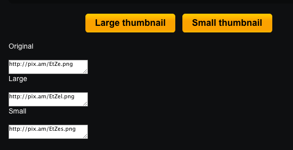 Differentsizes