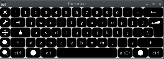 Replace Gnome On-Screen Keyboard With Florence Virtual