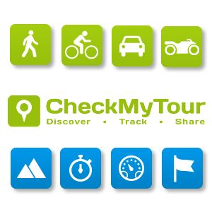CheckMyTour – Discover, Track And Share Journeys With Your Smartphone