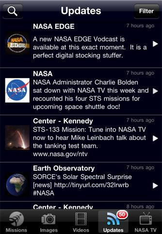 nasa iphone app review