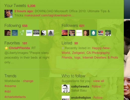 twitter page customization