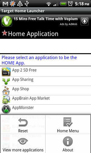 android home launcher