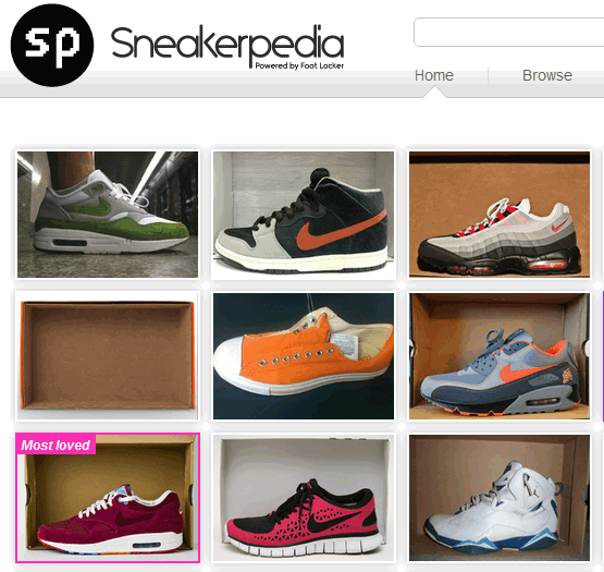 sneakerpedia 2   Sneakerpedia: Online Destination For Sneaker Enthusiasts