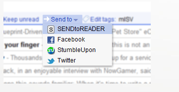 stor   SendToReader: Send Webpages To Kindle With A Single Click