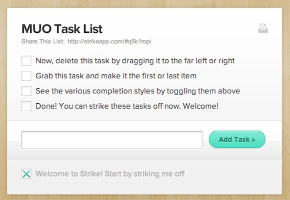 Two Dead Simple Productivity Webapps To Keep You Organized strike3