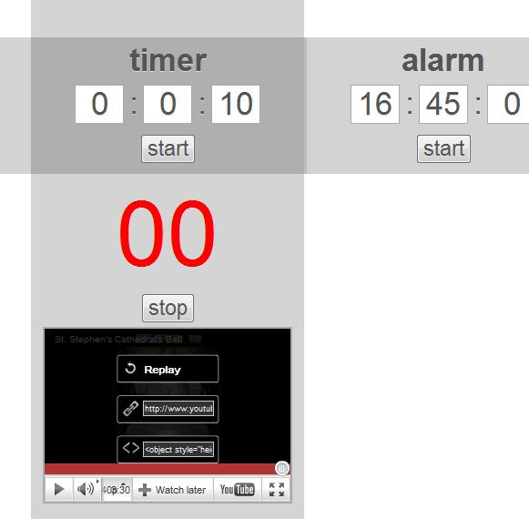 google chrome stopwatch