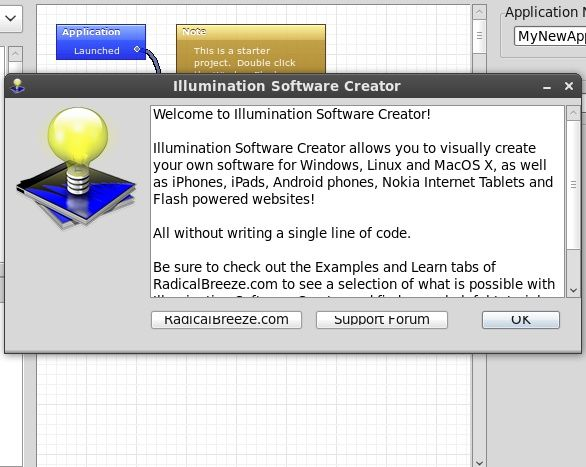 Make Your Own Programs With Illumination Software Creator [Giveaway] welcome