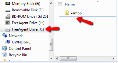 how to set up xamp locally