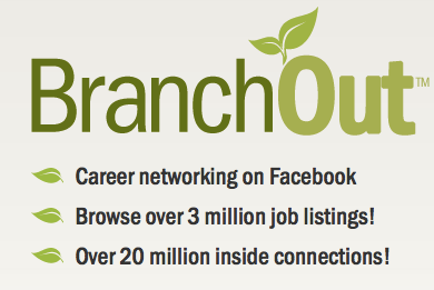 BranchOut Business Networking Rivals LinkedIn [News] BranchOut Logo