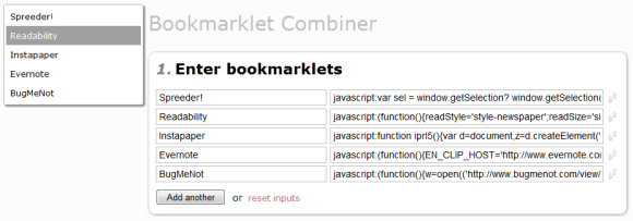 bookmarklets boost web surfing