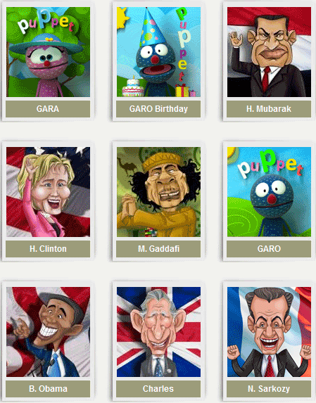anmish1   Anmish: Funny Caricature Animation Maker