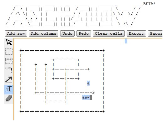 ascii art drawing tool
