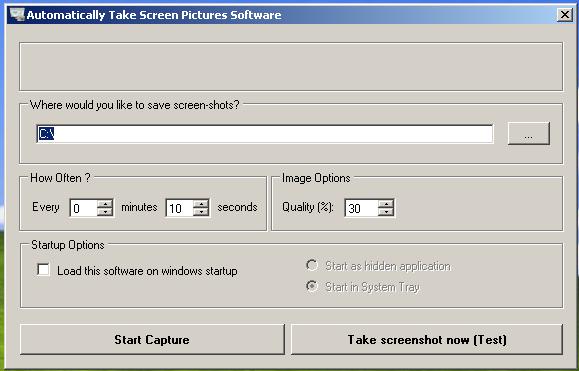 capture multiple screenshots