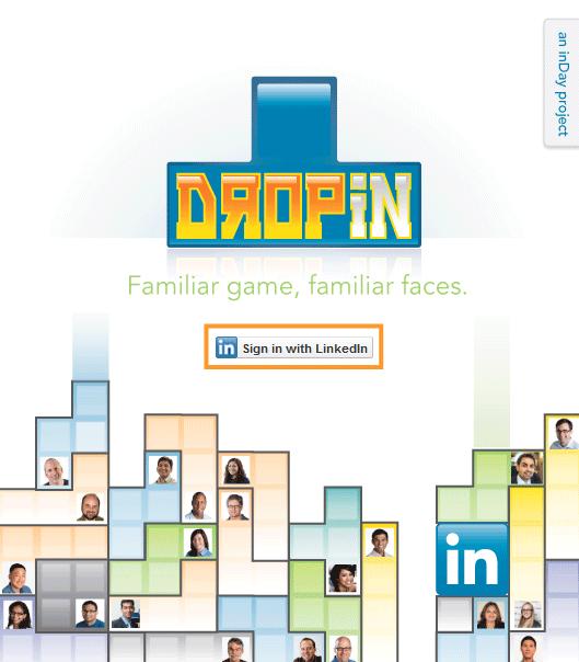 dropin   Dropin: LinkedIns First Social Tetris Game
