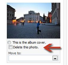how to delete photos from facebook album