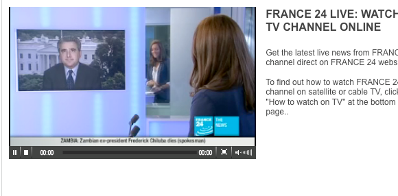 6 Live Professional News Streams You Can Watch Online For Free france24 live