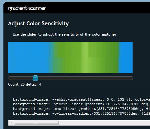 gradient-scanner