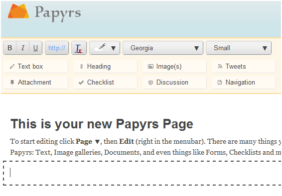 create web pages easily