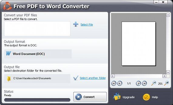 Doc to convert freeware pdf