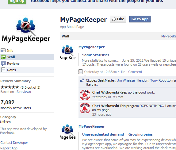keep your facebook clean