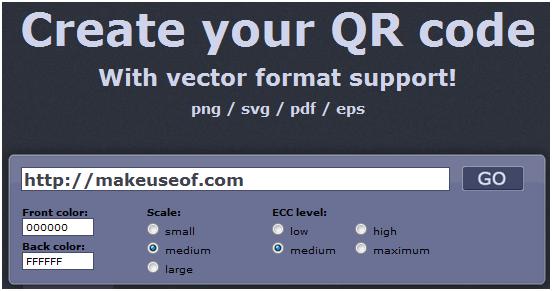 create qr codes vector