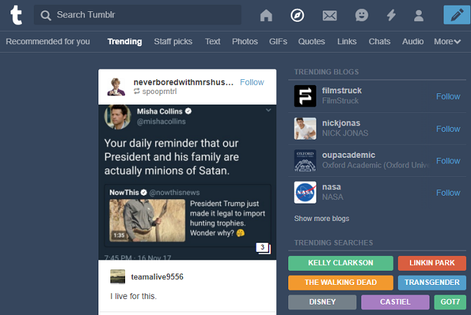 How to Use Tumblr: 10 Useful Tumblr Tips for Beginners tumblr explore 670x449