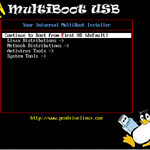 Boot Multiple Live CDs From One USB Disk With YUMI [Windows]