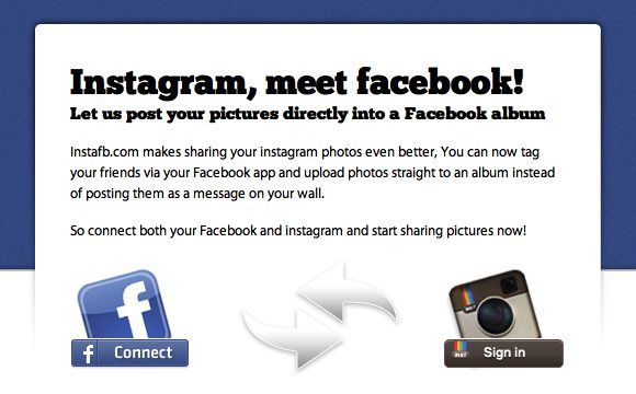 How to upload instagram photos on facebook