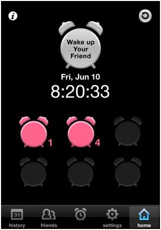 same wake up time