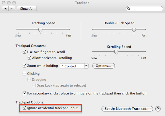 How To Stop Erratic Cursor Behaviour When Typing [Mac]