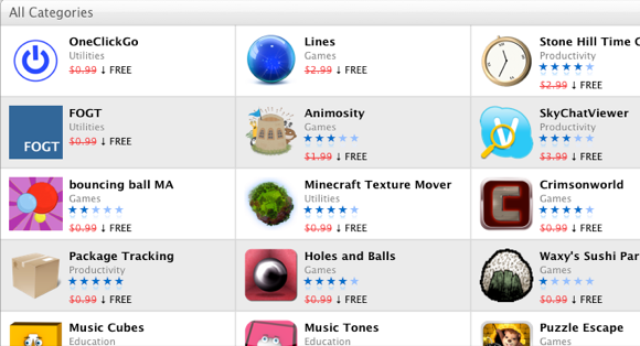 apps on sale
