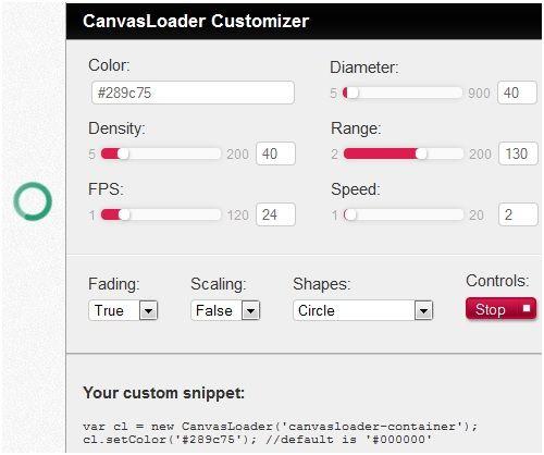 customize preloader