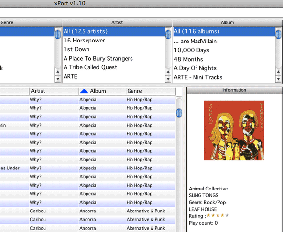 import songs from ipod to computer