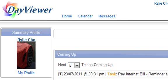 online calendar with planner