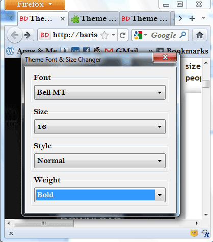 Theme Font & Size Changer: Easily Customize Fonts Of Firefox's User Interface firefox font size1