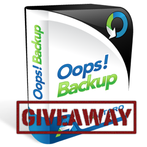 Win a Copy of Oops!Backup — Time Machine for Windows [Giveaway]