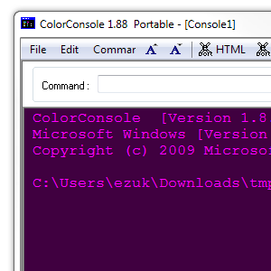 Liven Up Your Windows Console With The Portable App ColorConsole