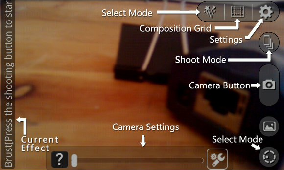 android camera apps