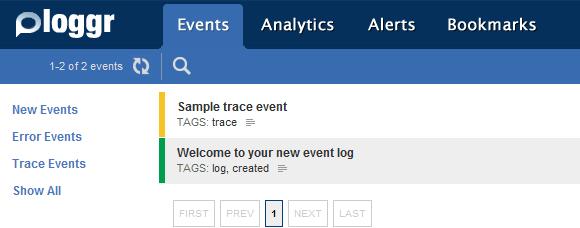 event logging service