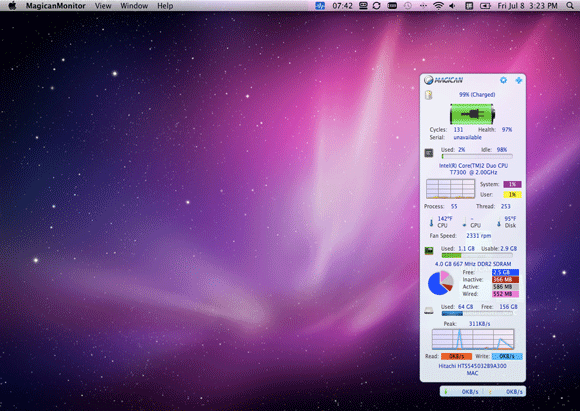 system monitoring software for mac