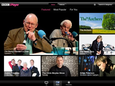 BBC Launches International iPlayer iPad App With Subscription [News] mzl