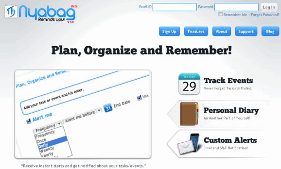 online planner