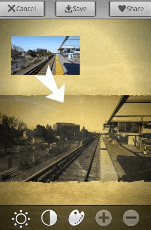 give your photos a vintage look