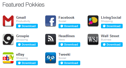 pokki   Pokki: Get Desktop Applications For Popular Web Services