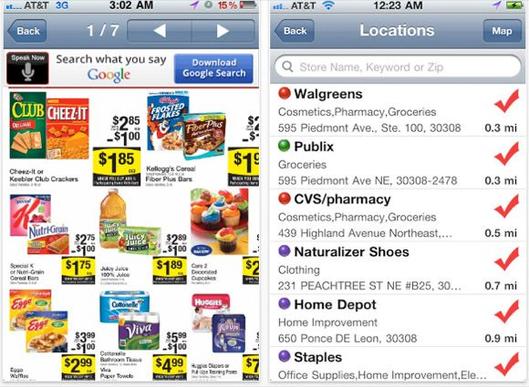 iphone apps deals coupons
